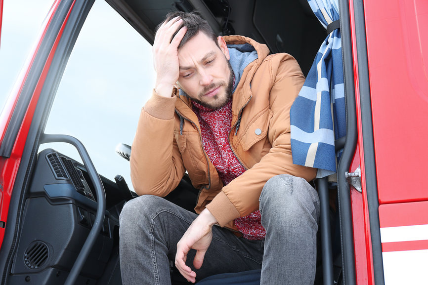 5 Stressful Aspects of Truck Driving